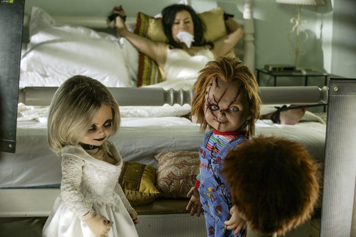 Chucky and Tiffany kidnap Jennifer Tilly