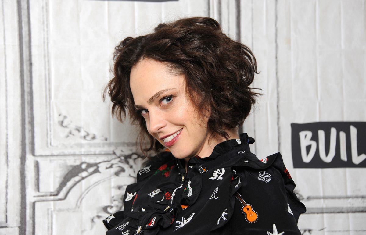 Fiona Dourif smiles