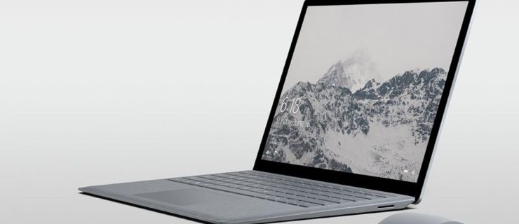 Microsoft Finally Unveils The Surface Laptop We've All Been Waiting For
