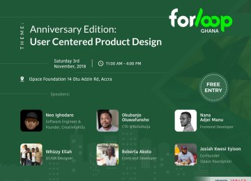 Event: forloopGhana Anniversary Edition At iSpace On November 3rd