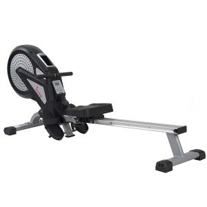 Sunny Health and Fitness SF-RW5623 Air Rowing Machine with LCD Monitor - Top 10 best rowing machines