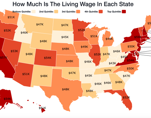 The Minimum Wage Is Lower Than What Residents Want