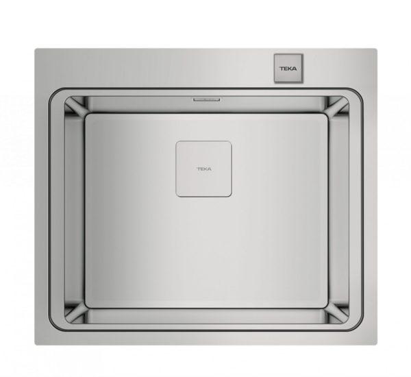 мивка за вграждане гладка авт. клапан за шкаф със светъл отвор 60 см ZENIT RS15 1C