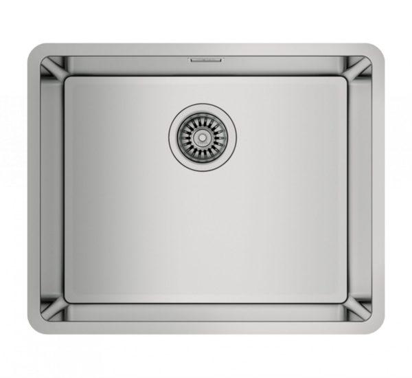 иноксова мивка за шкаф със светъл отвор 60 см BE LINEA RS15 50.40