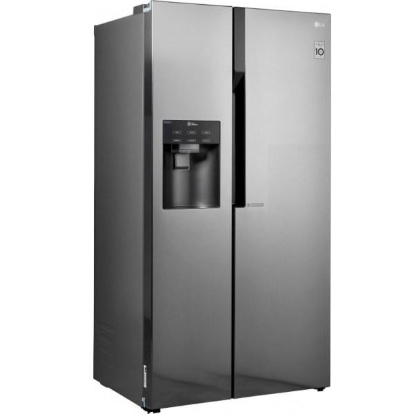 hladilnik side by side lg gsl561pzuz nofrost multiairflow