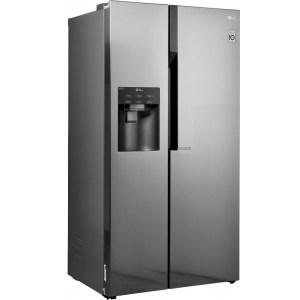 hladilnik side by side lg gsl561pzuz nofrost multiairflow