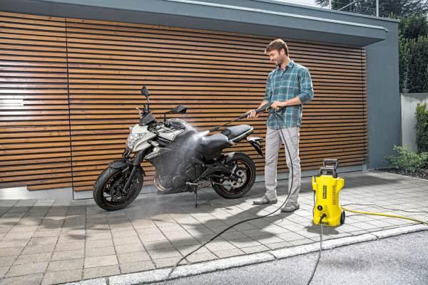 Водоструйка Karcher K2 Power Control, велосипеди, градински пособия и мебели,1.673-600.0