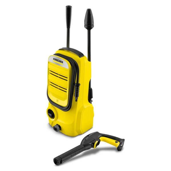 Водоструйка Karcher K 2 COMPACT ,изключително компактна, лесна за пренасяне и прибиране , 1.673-500.0