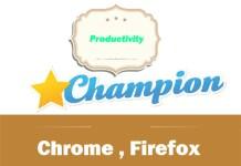 Productivity Champion