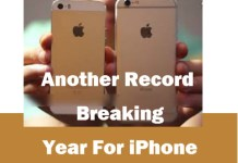 Another Record Breaking Year For iPhone