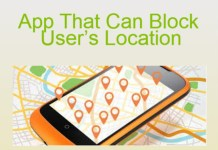 App That Can Block User's Location