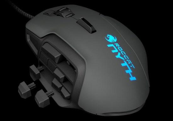 Modular MMO Gaming Mouse