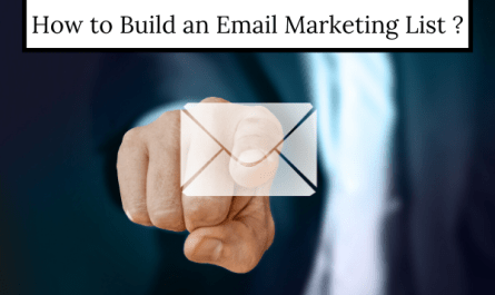 guide to build email marketing list