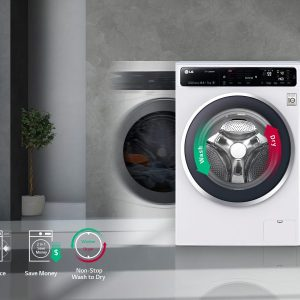 LG F1496AD5 Freestanding Washer Dryer
