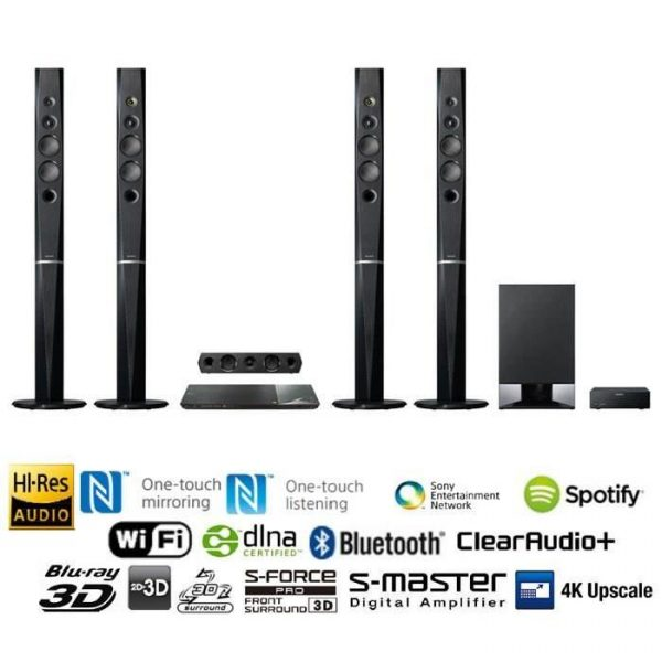 Sony BDV-N9200W 3D Blu-ray Disc Home Theatre – Tech Nuggets