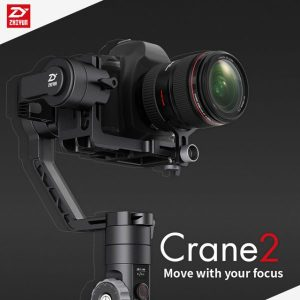 Zhiyun-Tech Crane 2 Professional 3-Axis Handheld Gimbal