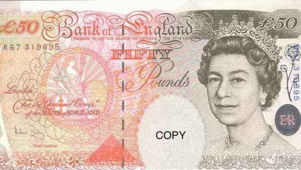 1万円札廃止論を読んで そういえばイギリスでは高額紙幣を全然見ないな