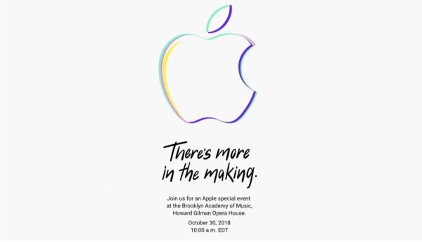 待ちに待った新型Mac・iPad Proのイベントは10月30日に決定