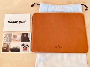 今年の初買いはHARBER LONDONのiPad Pro用革ケース