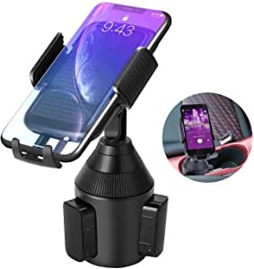 LEXY Smartphone Car Holder, Mobile Phone Universal Adjustable Smartphone Car Holder for iPhone 11 PRO Max X 8 Plus 7 6 Samsung Galaxy S10