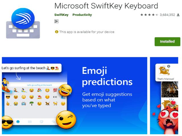 Best Emoji Apps For Android In 2021 Microsoft SwiftKey Keyboard