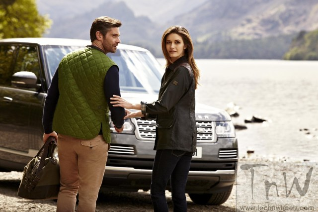 The Barbour and Land Rover Spring Summer '15 Collection