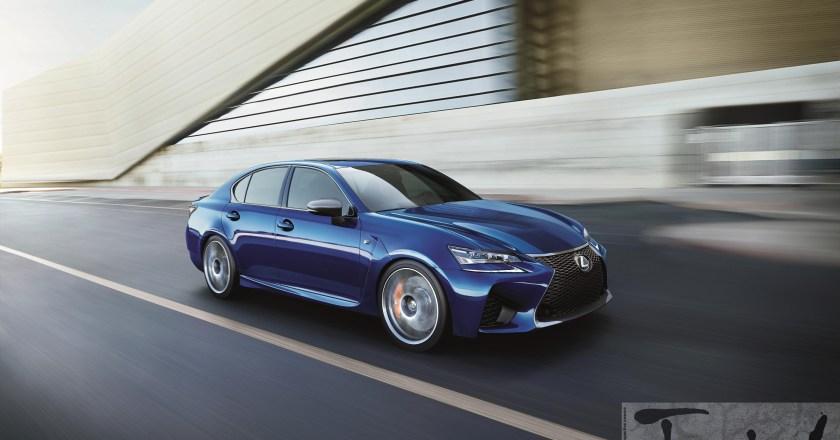 2015 NAIAS DETROIT: Lexus reveals the GS F performance V8 saloon at Detroit