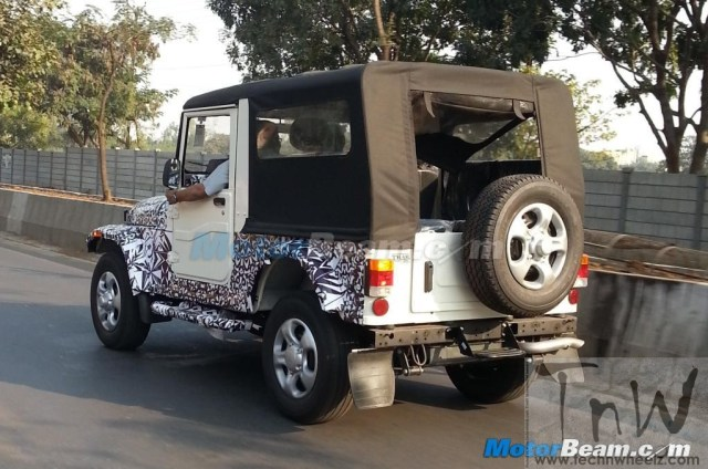 Mahindra-Thar-On-Test