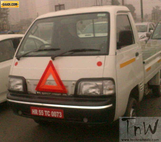 Production ready Maruti Y9T LCV spotted again