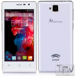 Swipe Marathon Android phone launched @ INR 4599