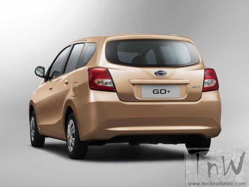 Datsun Go+ MPV rear
