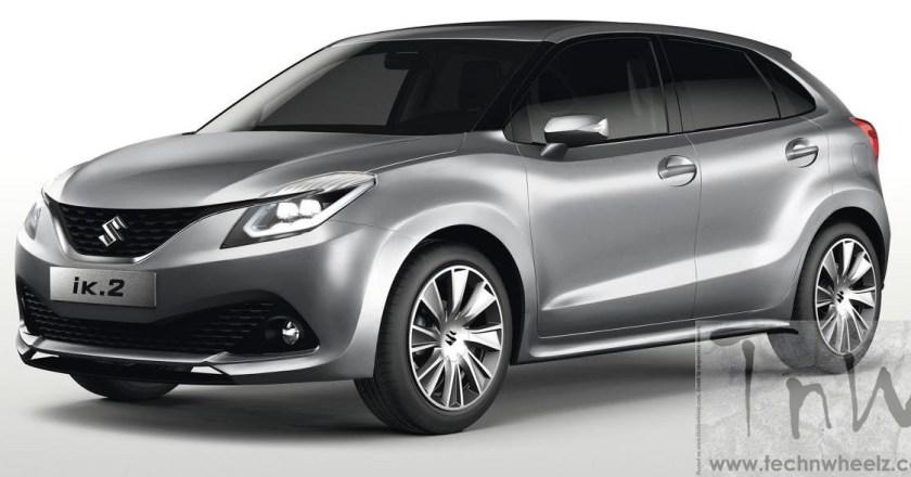 2015 Geneva: Suzuki iK-2 compact hatchback Concept unveiled