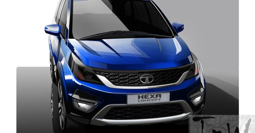 2015 Geneva: Tata Hexa is a reworked Aria with beefy design
