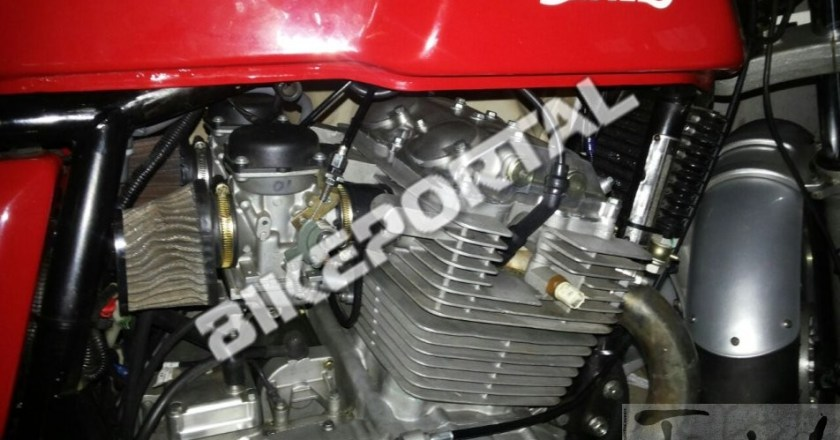 Spy Pics: Royal Enfield's parallel twin 750cc engine on Conti GT