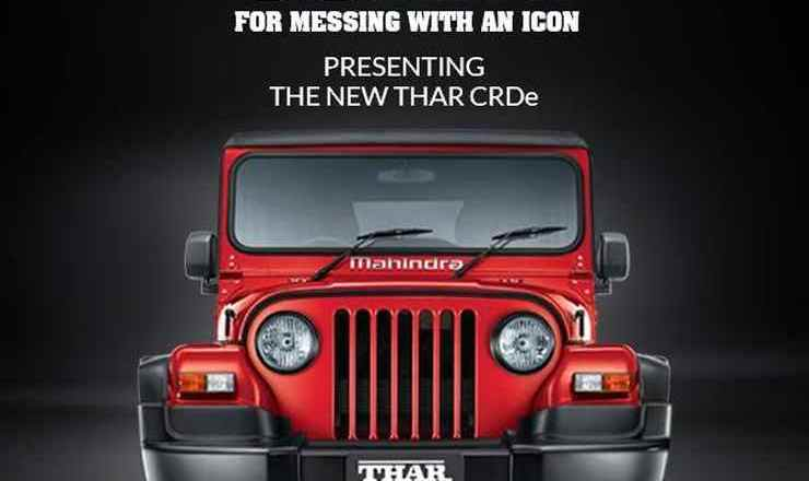 Why did Mahindra messed an icon- the Thar?