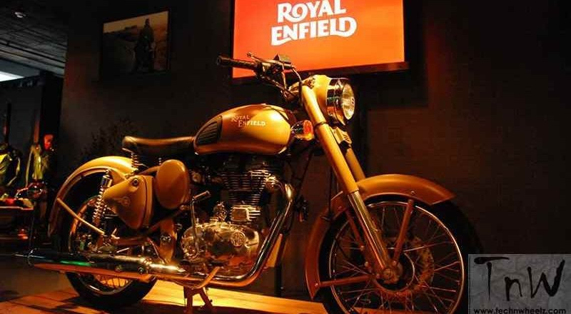Royal Enfield production halts in flood-hit Chennai