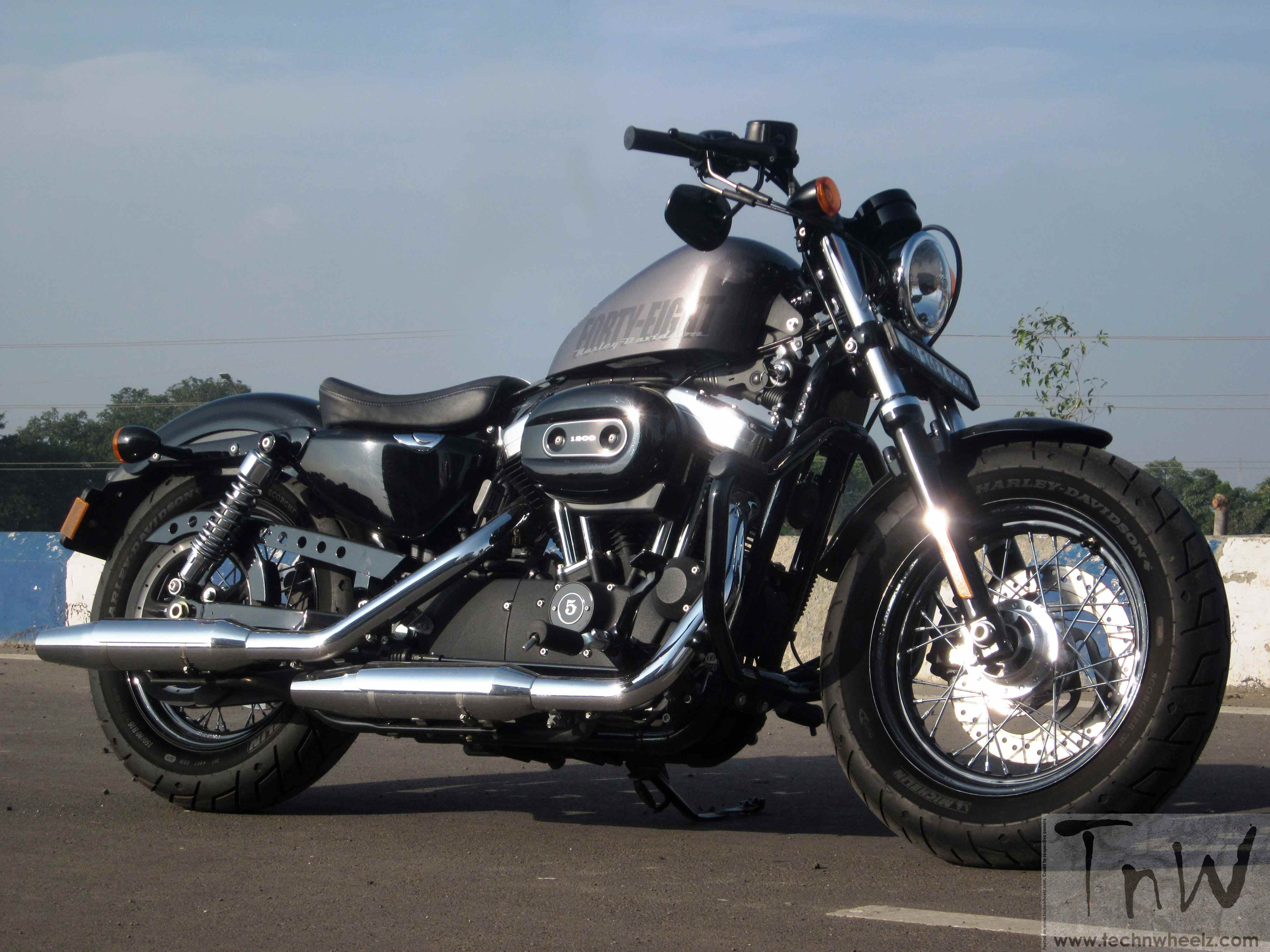 harley davidson forty eight the raw ride technwheelz. Black Bedroom Furniture Sets. Home Design Ideas