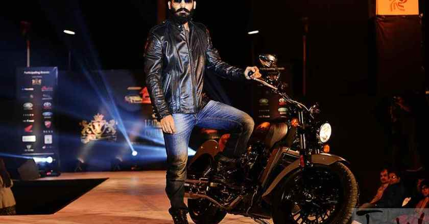 Indian Motorcyle Company & V Renaissance organizes fashion show- VROOMss