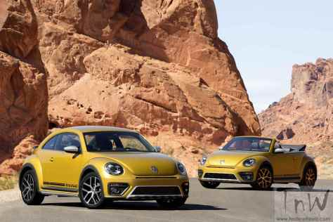 The new Volkswagen Beetle Dune and Beetle Dune Cabriolet