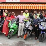 GQ Motorcycle Run Record: 6-riders, 6011kms, 118hrs 35mins. (Part 1)