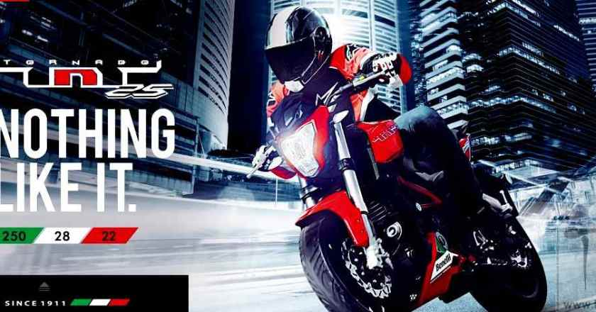 DSK Benelli TNT 25 launched @ INR 1.68 lakhs