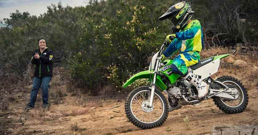 Kawasaki KLX 110, off-road bike for kids launched @ INR 2.65 lakh