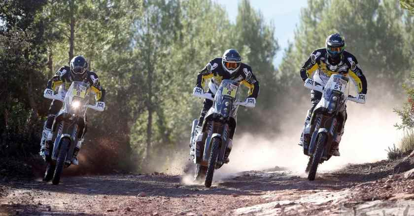 Husqvarna readies riders for their first Dakar Rally