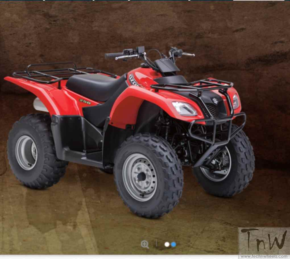 Suzuki quadsport z400 reviews prices and specs autos weblog suzuki -  Features Like Automatic Clutch Class Leading Performance Maintenance Design And A Modern Look That Provides Complete Value In True Suzuki Style