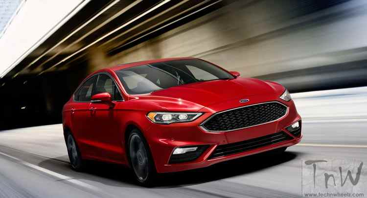2016 Detriot: Ford Fusion V6 Sport. 325hp and AWD