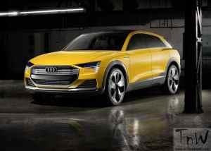2016 Detroit: Audi h-tron quattro hydrogen powered concept SUV