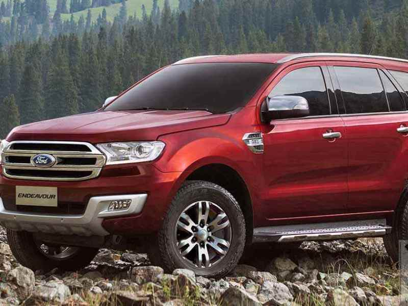 Ford Endeavour launched with prices starting @ INR 24.75 lakh