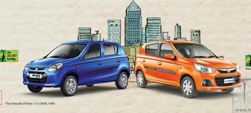 Maruti Suzuki Alto 800 and Alto K10 gets airbag as option