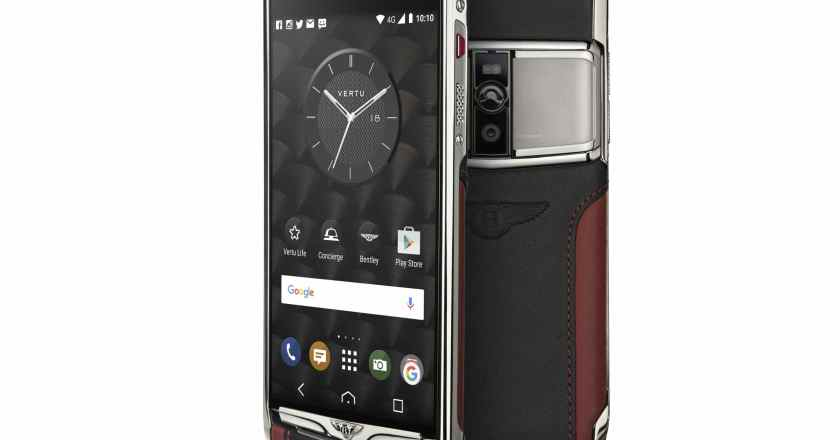 Vertu's new Signature Touch for Bentley officially announced