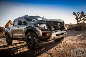 2016 Detroit: The beefy Nissan Titan Warrior